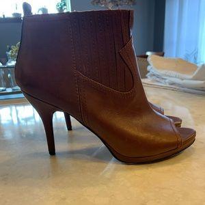 Nine West Peep Toe Booties